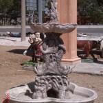 Üç Balıklıklı Beton Havuz