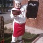 Aşçı Heykeli