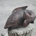 Balık Heykeli Fiber