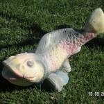 Beton Balık Fıskiye