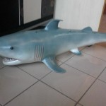 Köpek Balığı Heykeli