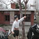 Köylü Çocuk Heykel
