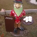 Papağan Aşçı Menü Tahtası