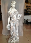 Romalı Testi Tutan Kadın Heykeli