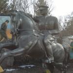 Atatürk At Üzerinde Heykel