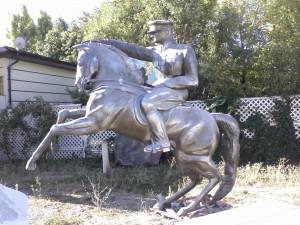 Atatürk At Üzerinde Heykeli