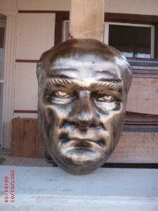 Atatürk Büst Duvar için