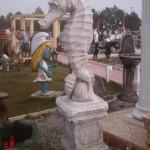 Deniz Atı Heykeli Beton