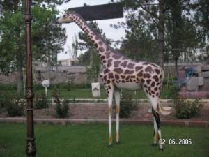 Küçük Zürafa Heykeli