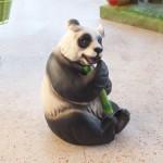 Panda Heykeli Fiber