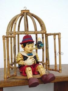Pinokyo Heykeli