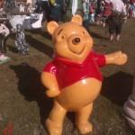 Winnie Pooh Heykeli