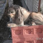 Yatan Aslan Figürü