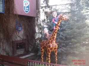 Yavru Zürafa Heykeli