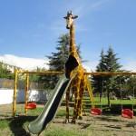 Zürafa Kaydırak