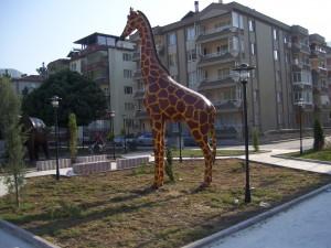 Zürafa Maketi