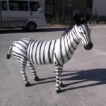Zebra Heykelleri