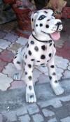 Dalmaçyalı Köpek Heykeli