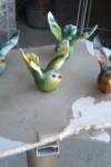 Küçük Kuş Heykelleri