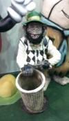 Sepetli Maymun Maketi
