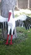 Uçan Leylek Heykeli